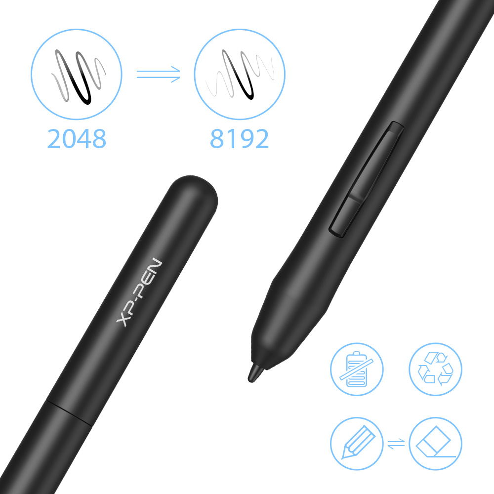XP-Stift Stern 03 Grafiken Zeichnung Tablet mit Batterie-freies passiven Stift