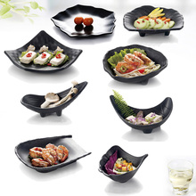 Snack Cold Dishes Sushi Dish Frost Porcelain Imitation Dinnerware Dinner Plate Hot Pot Jardiniere A5 Melamine Tableware