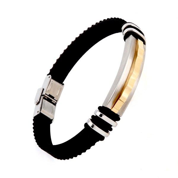b03e707eac36 DR2416 2019 pulsera puntero de acero de titanio de lujo de tres colores  pulsera entrelazada para ...