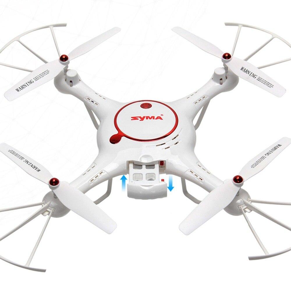 Syma 2.4g 4 canales rc quadcopter drone headless modo función activable con cáma