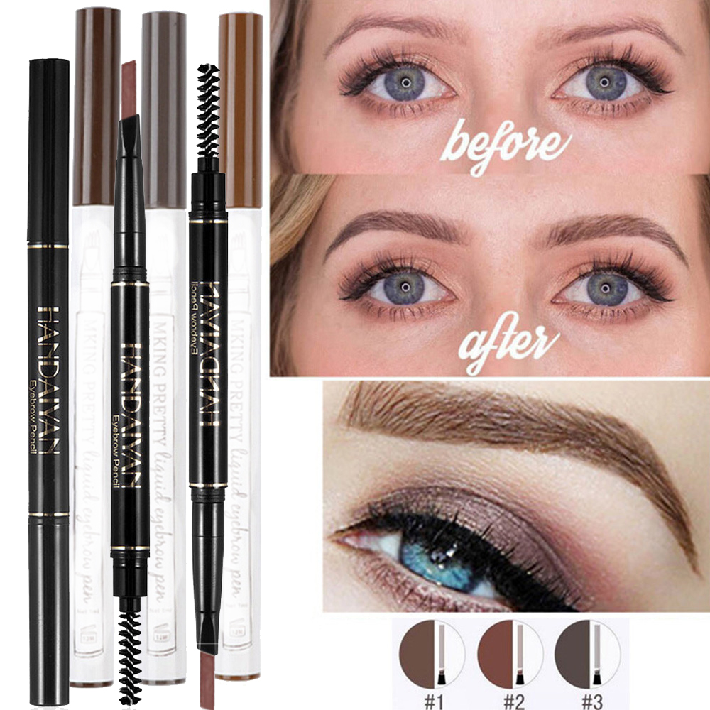 Harga Jual Lt Pro Eyebrow Pencil Update 2018 Sonic 150r Aggresso Matte Black Boyolali Lulaa Four Heads Easy To Draw Long Lasting Waterproof High Quality Automatic