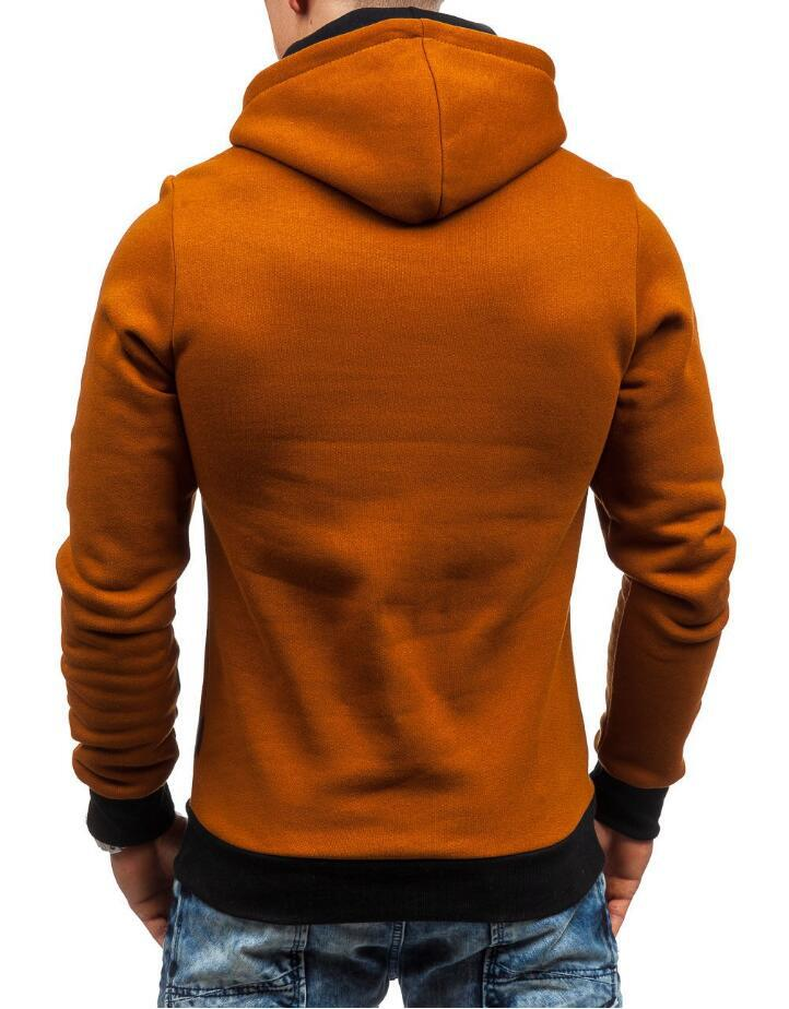 HEYKESON Brand 2017 Hoodie Oblique Zipper Solid Color Hoodies Men Fashion Tracksuit Male Sweatshirt Hoody Mens Purpose Tour XXL HEYKESON Brand 2017 Hoodies, with an chest Zipper HTB17WzCSFXXXXXMXVXXq6xXFXXXx
