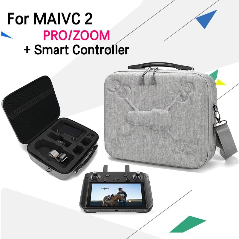 DJI Mavic 2 Pro controlador inteligente funda de transporte de seguridad para DJI Mavic 2 accesorios de control remoto-in Control remoto from Productos electrónicos    1