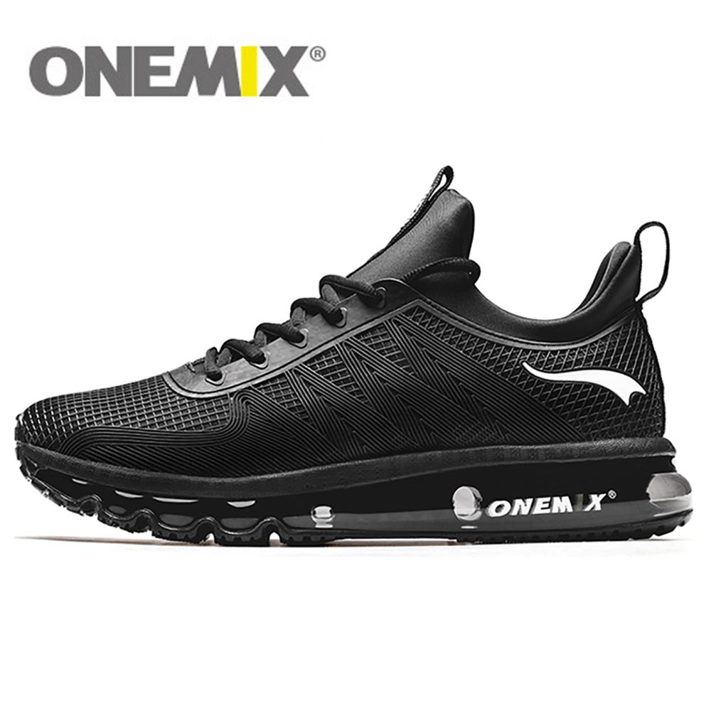 ONEMIX Men Running Shoes Women Sneakers Fashion Casual Outdoor Jogging Air Cushioning Gym Fitness Sneakers Max 12