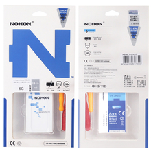 NOHON 100% Original Battery For iPhone 6 6G 1810mAh With Package + Free Tools Internal Mobile Phone batteria For iPhone6