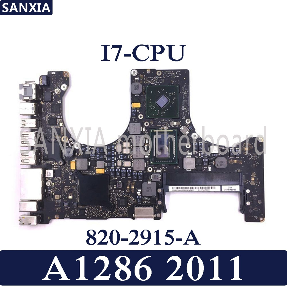 Worldwide delivery macbook pro a1286 motherboard in NaBaRa