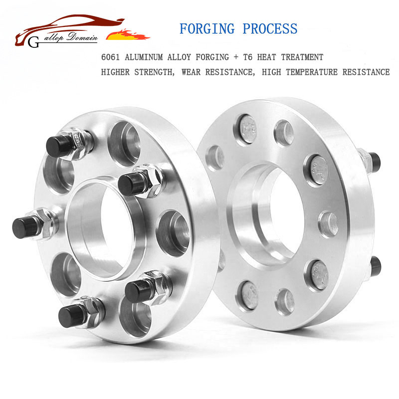 Gallop Domain 2PCS 5x108 CB:65.1mm Aluminum alloy CNC higher forge wheel spacers suit for Volvo Series 240,700,850,960,C70,S60,