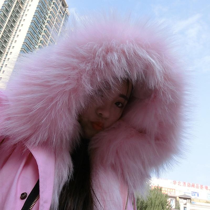 High quality women girl elegent real full piece fox fur coat warm thick fox fur Hat collar real raccoon fur liner coat 2016 new mori girl high quality sweep lace fur coat
