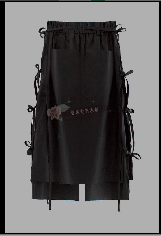 Lâche 44 De 27 Pantalon Marée Nouvelle Hommes 2019 9 Bas Culottes Chanteur blanc Noir Décontracté Déguisemement Large Noir En g0dqdH