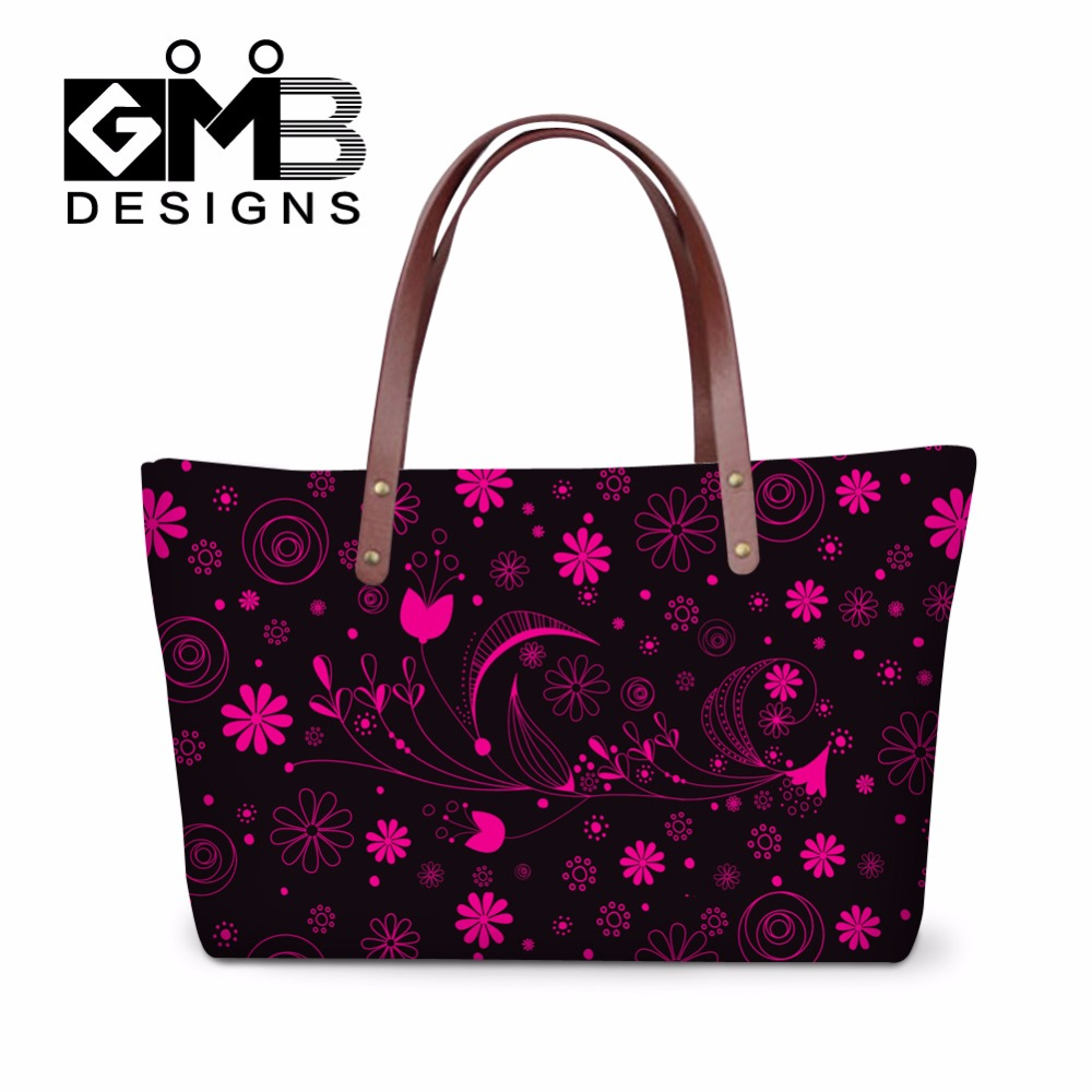Flower Liques Clear Handbags For Agers College Shoulder Hand Bags Handbag School Casual Fox Tote Bag Animal Owl In From Luggage