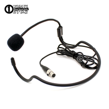 Мини XLR 3 Pin TA3F разъем головной микрофон с наушным креплением конденсаторный микрофон гарнитуры для Самсон Беспроводной Системы поясной передатчик