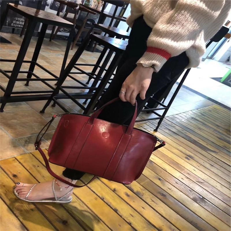 2 Coréenne Main À Sauvage Automne 2019 D'hiver En Simple La Et Sac Nouvelle 1 Version Messager De Cuir 4 Épaule 3 Uwz6qwv