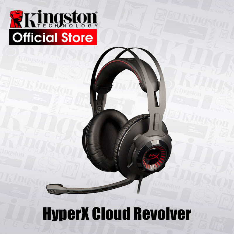 Kingston HyperX Cloud Revolver Gaming Headset Black Headphones With microphone for PC Xbox One Xbox One