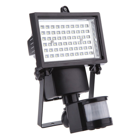costech ultra brilhante 60 led 100led solar