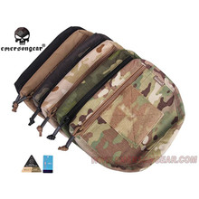Emerson Tactical Bag Organizer IPSC Armor Carrier Drop EDC Rifle Airsoft Case Molle Waist Wallet Bag for AVS JPC CPC(China)