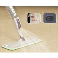 341214 Household Flat Mop Sponge Handle 360 Degrees Can Be Rotated Durable High Quality Stainless Steel