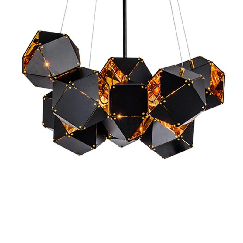Buy Nordic Modern Stainless steel Chandelier lamp Creative