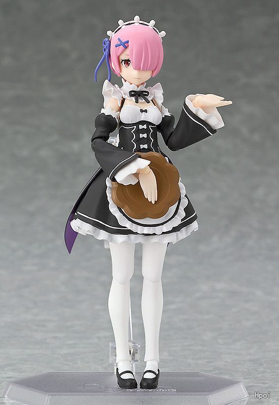 Anime Figure Re:Life in a different world from zero Figma 347 RAM PVC Action Figure Collectible Model Kids Toys Doll 13cm re life in a different world from zero ram maid with mop ver pvc figure collectible model toy 22cm