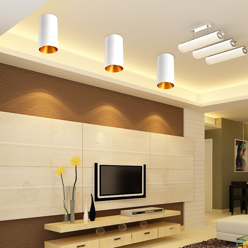 modernas luzes teto led unico aluminio 01