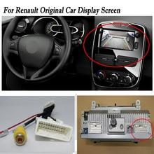 24 контакта провода разъем с RCA для Renault подключения оригинальный завод экран/резервная камера заднего вида для парковки кабель адаптер