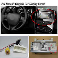 24 Pins Wire Connector with RCA For Renault Connect Original Factory Screen / Backup Parking rearview Camera Cable Adapter