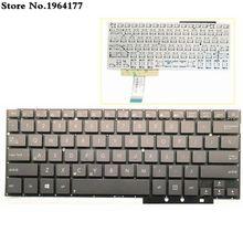 Клавиатура для ноутбука ASUS UX31LA UX31 UX31A UX31E, английская раскладка США, новая, без рамки, Черная