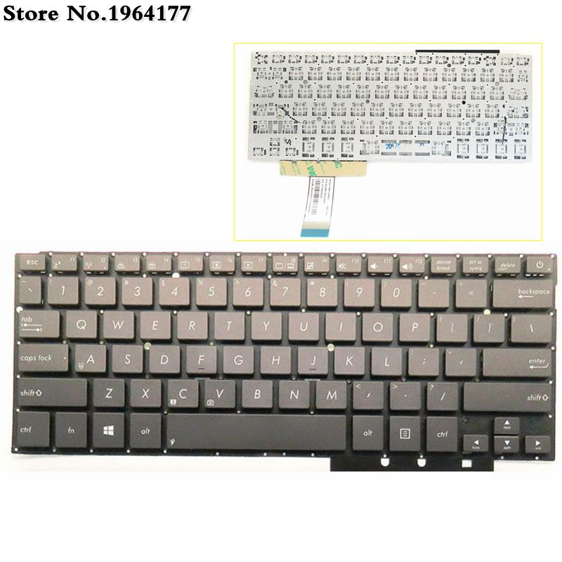 Laptop Keyboard For ASUS UX31LA UX31 UX31A UX31E US English Layout New Without Frame Black
