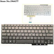 Teclado para portátil ASUS UX31LA UX31 UX31A UX31E, diseño en inglés de EE. UU., nuevo sin marco, negro