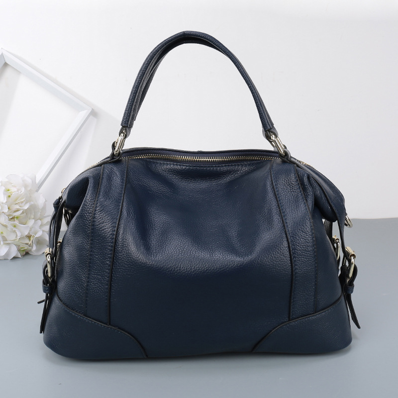 Europe and the new 100% leather bag ladies fashion tide Shoulder Messenger Bag Large Capacity all-match leather handbag aetoo europe and the united states fashionable women s bag new leather ladies handbag large capacity diagonal shoulder bag