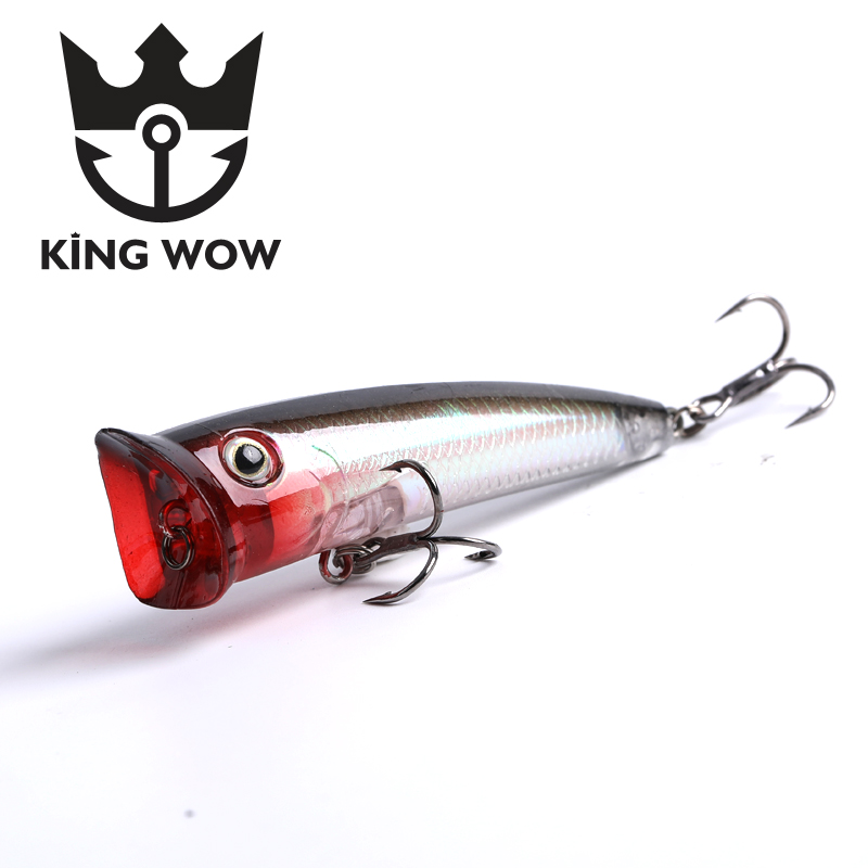 Fishing lure Popper 70mm/11g Fard Bait Fishing Lure Wobblers Bait Long Casting Fishing Strong Hooks Topwater Fishing Bait