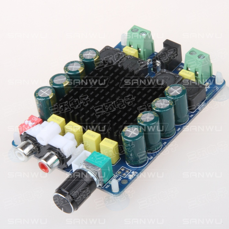 TDA7498 power amplifier board high-power digital amplifier board 2X100W dual channel stereo