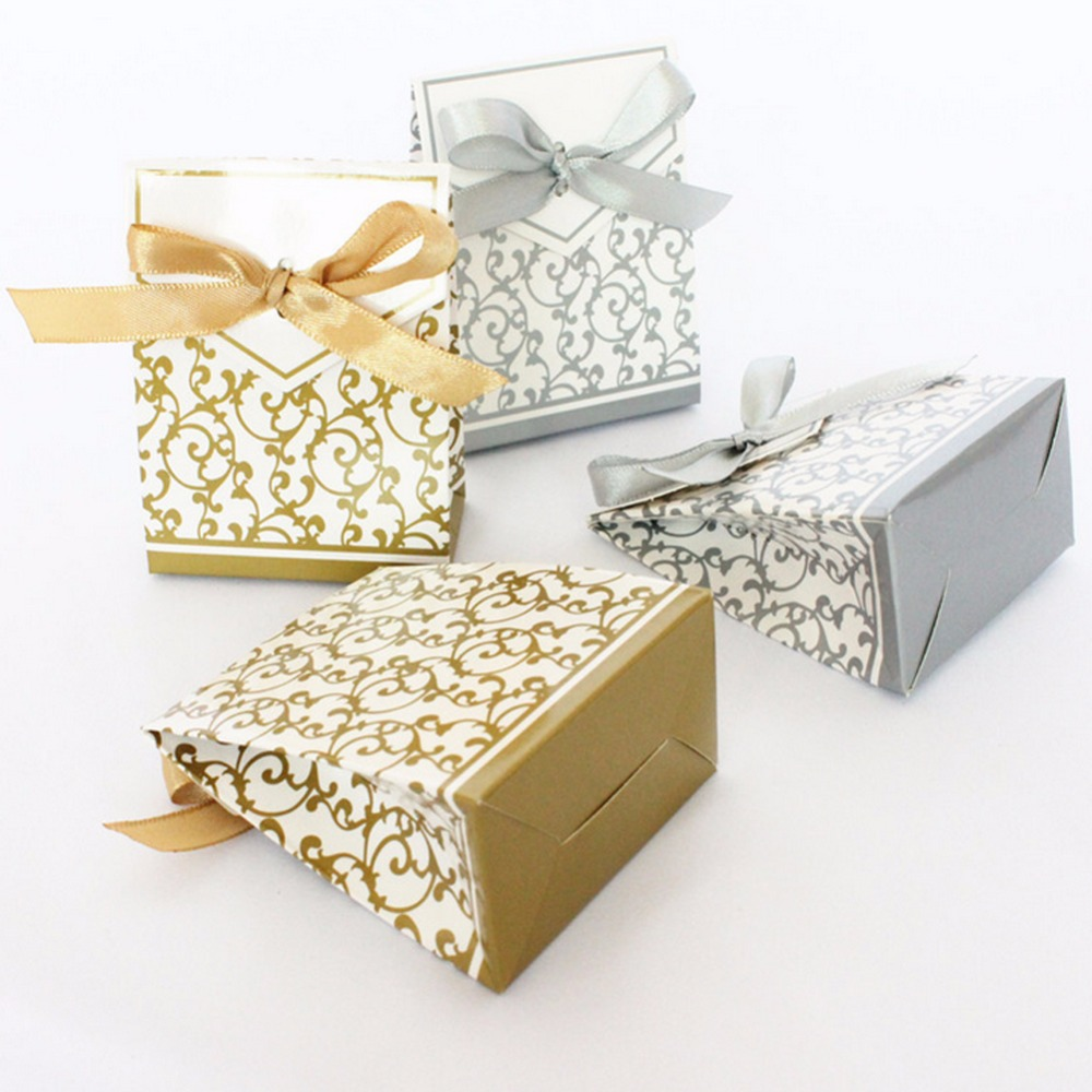 Wedding Gift Boxes 5pcs New Style Wedding Favor Gift Box ,Party ...