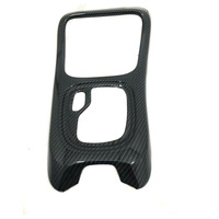 Car Styling Fit For Jeep Compass 2017 2018 Auto Interior Gear Shift Panel Frame Trim Styling  ABS Car Cover Accessory