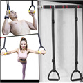 Adults Gymnastics Rings ABS with Heavy Duty Adjustable Straps Non slip for Home Gym Stretching Exercise Pull Ups Bodybuilding|Gymnastics|Sports & Entertainment -