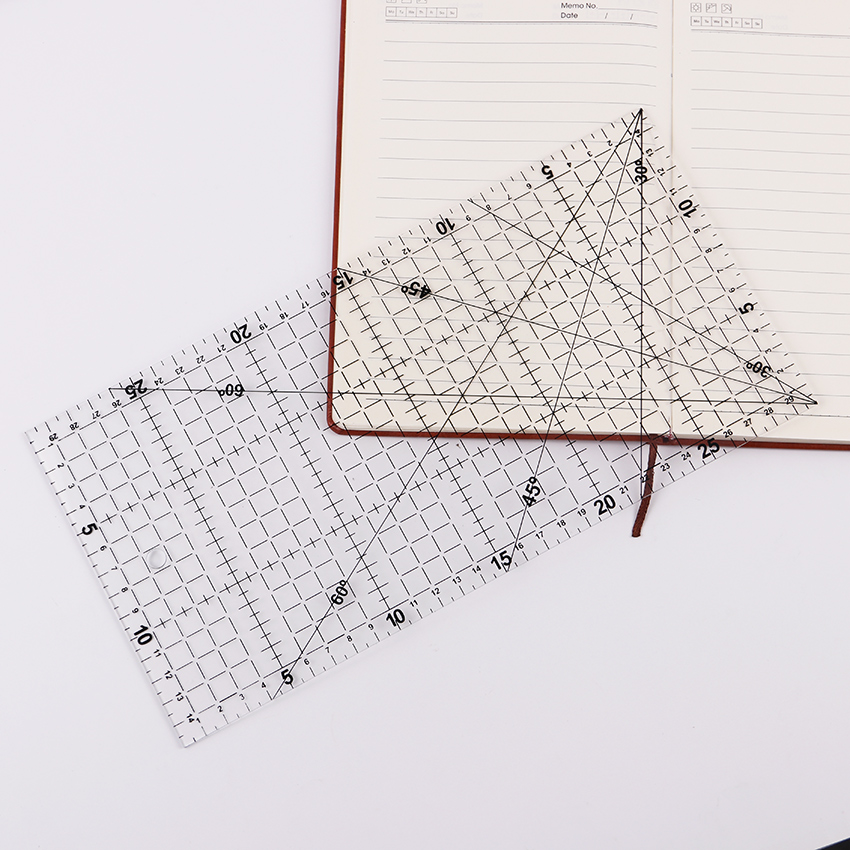 1 PC 30cmx15cm High Quality Quilting Tools Acrylic Material Transparent Patchwork Ruler DIY Drawing Office Gift Ruler