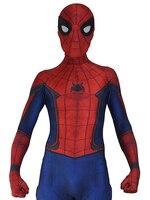 Civil War Spider Man Costume 3D Shade Suit Cosplay Spiderman