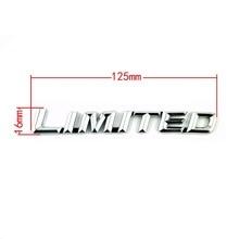 3D Metal Limited Sticker Emblem