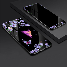 For Huawei P20 Tempered glass Case + Glass Screen Protector Film for 360 Degree Full Cover