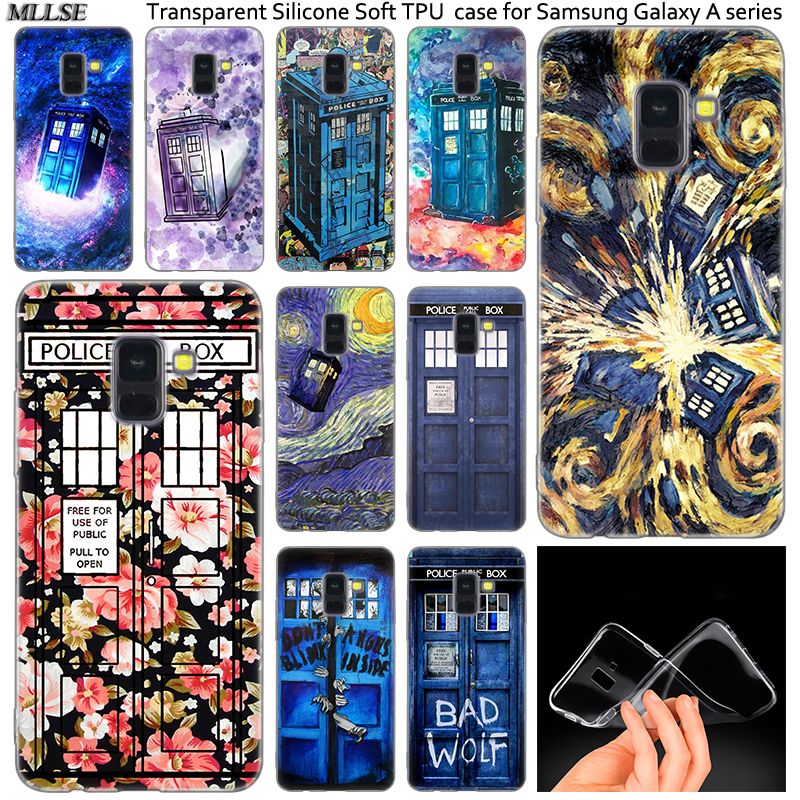 Cellphones & Telecommunications Disciplined Floral Tardis Tardis Doctor Who Silicone Case For Samsung Galaxy A50 A30 A10 A40 A6 A8 Plus A9star A5 A7 2018 2017 2016 Note 9 8 Matching In Colour Phone Bags & Cases