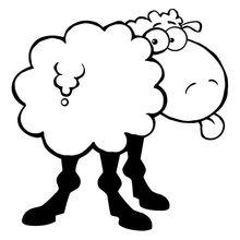 Schwarz Schafe Cartoon Kaufen Billigschwarz Schafe Cartoon Partien
