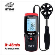 BENETECH Anemometer Sensor Wind Meter Digital Anemometer LCD Digital Wind Speed Meter Wind Meter 45m/s GT8907 Anemometer - DISCOUNT ITEM  31% OFF Tools