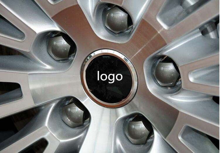 For Skoda Octavia A7 Fabia auto wheel center cover sticker ,4pcs/set