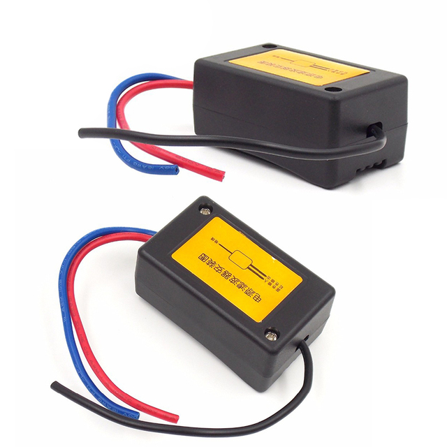 Best Offers 12V Filtering the noise Motorcycles Car Audio power filter Eliminate the interference noise power