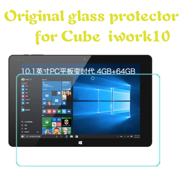 In Stock Tempered Glass Films Screen Protector for cube iwork10 10.1inch Tempered Glass Film