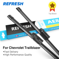 Wiper Blades For Chevrolet Trailblazer 2013 Onwards 22 18 Bracketless Windscreen Car Accessory Clip Lock
