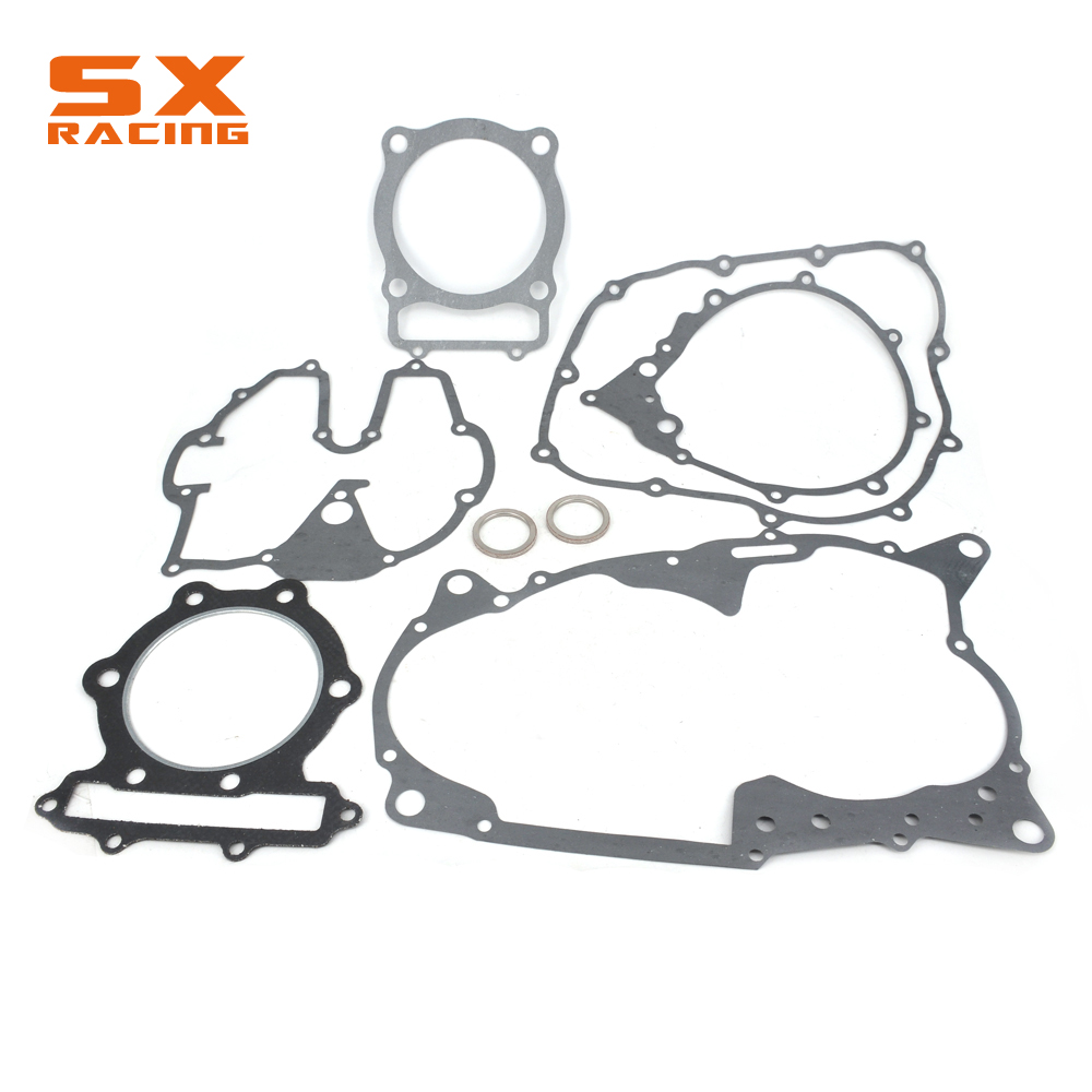 Motorcyle Engine Crankcase Paper Pad Overhaul Package Whole Motorbike Gasket Set For HONDA XR600 XR 600