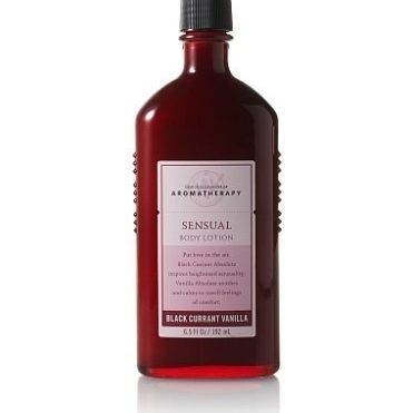 BLACK CURRANT VANILLA Bath Body Works Aromatherapy BODY LOTION lot of 1 new black currant extract 100g lot