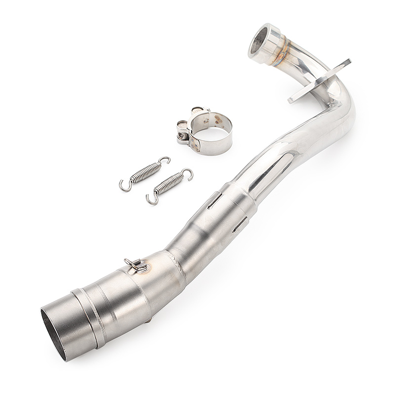 Universal Motorcycle Exhaust Pipe Muffler Mid Link Pipe Full System For Yamaha XMAX 300 XMAX 250
