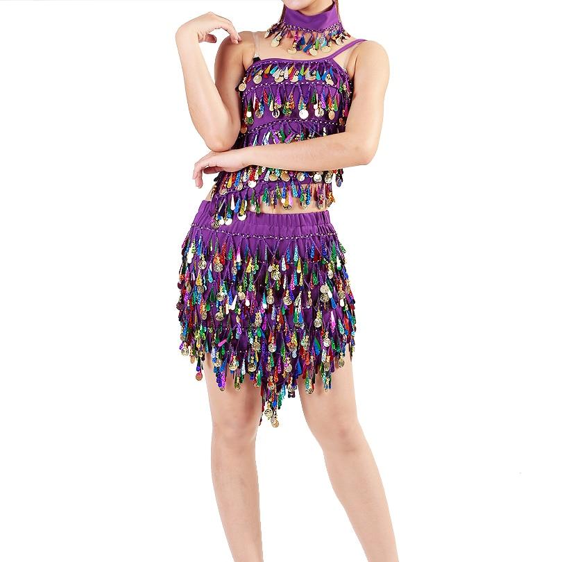 Изпълнение Дамски дрехи за танци Salsa - Дрехи за сцена и танц - Снимка 5
