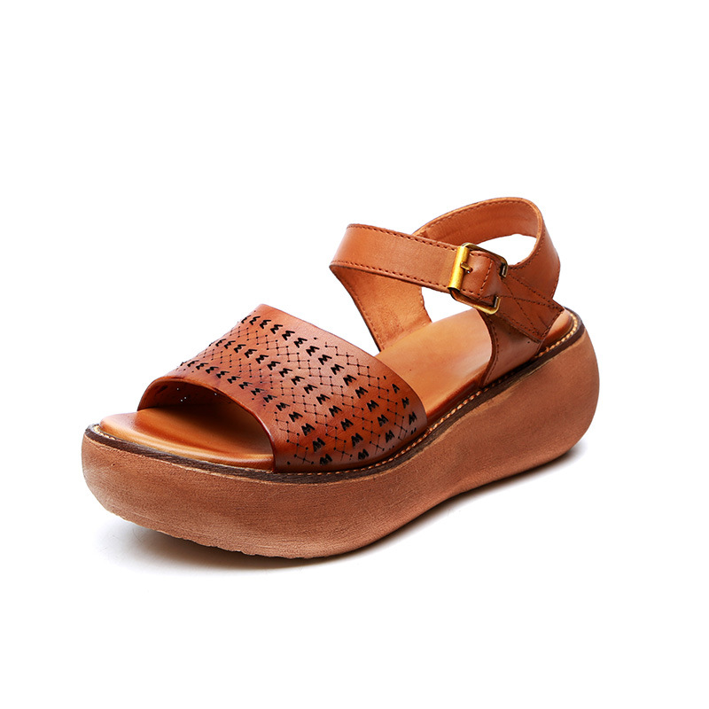 Most Popular Women Summer Sandals Casual Sandals 2019 New Summer Open Shoes Fashion Sandals Platform Shoes Woman Wedges Sandals